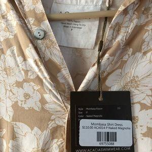 acacia swimwear Dresses - Acacia Mombasa Naked Magnolia sz P BNWT